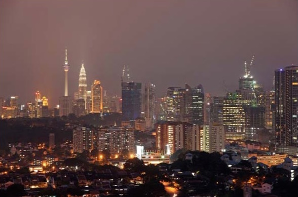 Kuala_Lumpur_bij_Avond