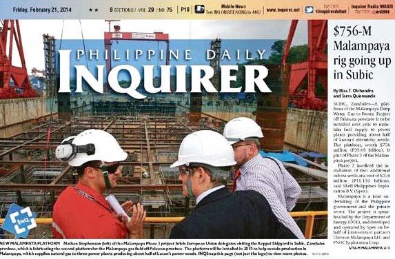 inquirer_malampaya